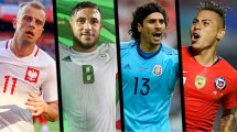 El XI de los jugadores con mejor carrera en selección que en su club
