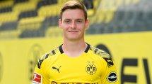 Sergio Gómez se despide del Borussia Dortmund