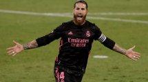 El PSG desvela por error el dorsal de Sergio Ramos