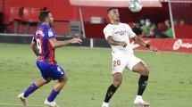 Liga | El Sevilla tumba al Eibar por la mínima