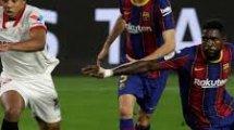 Confirmados los onces de FC Barcelona y Sevilla