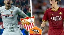 ¡Ya hay onces del Sevilla - AS Roma!