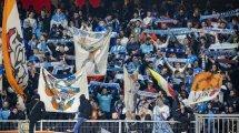 La increíble reacción de los aficionados del OM tras la victoria ante el PSG
