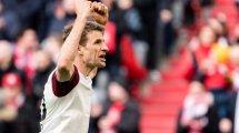 La continuidad de Thomas Müller, prioritaria para el Bayern Múnich