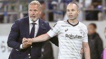 """Fichajes.com con Thorsten Fink, entrenador del Vissel Kobe: """"Andrés Iniesta es el mejor jugador al que he entrenado"""""""
