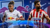 Ya hay onces oficiales del RB Leipzig - Atlético de Madrid