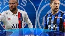Confirmadas las alineaciones de Atalanta y PSG