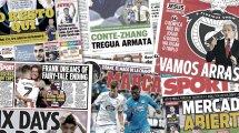 Los 2 objetivos del FC Barcelona en el inicio de mercado, el Villarreal va a por Dani Parejo, Monchi insiste en 2 sueños
