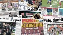 El detalle que da esperanzas al Real Madrid con Kyian Mbappé, guerra entre AC Milan e Inter por Olivier Giroud