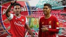 ¡Ya hay onces de Arsenal y Liverpool!
