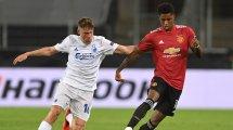 Europa League   El Manchester United se impone al Copenhague en la prórroga