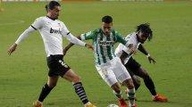 La felicidad de Cristian Tello en el Real Betis