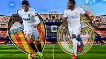 Ya hay onces del Valencia - Real Madrid