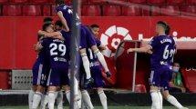Liga | El Sevilla pincha en casa ante el Real Valladolid