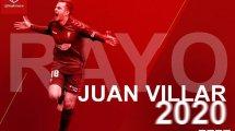 Oficial | Juan Villar aterriza en el Rayo Vallecano