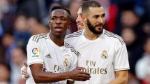 Los elogios de Vinícius a Karim Benzema