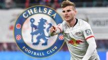 Fichajes Chelsea: ¡Timo Werner será más barato de lo esperado!