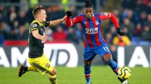 El Newcastle United prepara 60 M€ por Wilfried Zaha