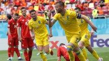 Confirmados los onces de Ucrania y Austria