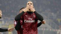 Las 2 alternativas a Ibrahimovic para el ataque del AC Milan
