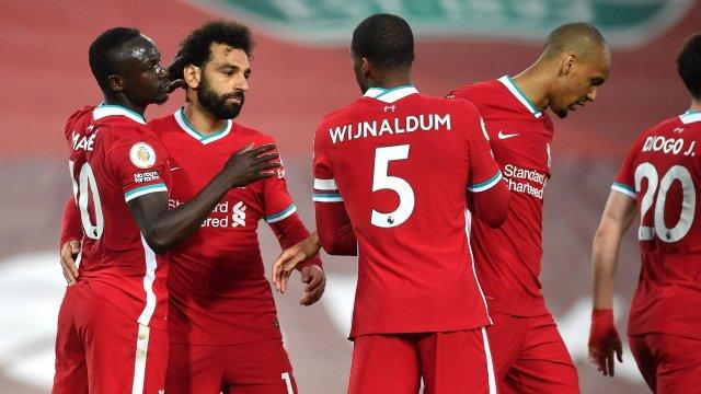 Mané, Salah, Wijnaldum