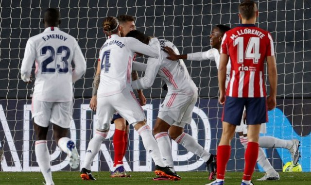 Real Madrid Atlético de Madrid