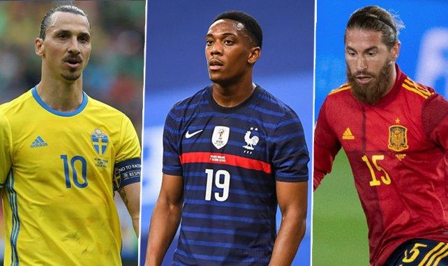Ibrahimovic, Martial y Ramos se pierden la Euro 2020