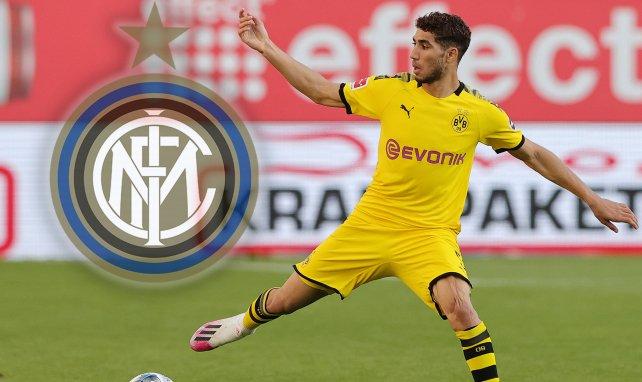 Acrhaf Hakimi ya es del Inter de Milán