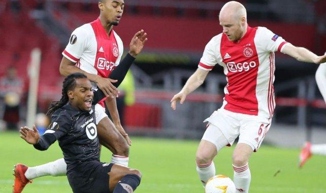 Davy Klaasen, en un lance del Ajax-Lille
