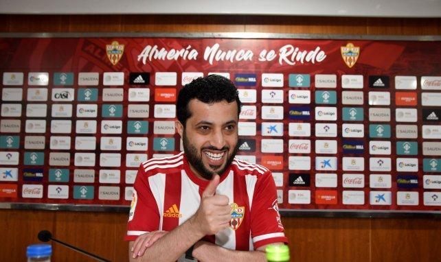 El Almería recibe una pieza del FC Barcelona