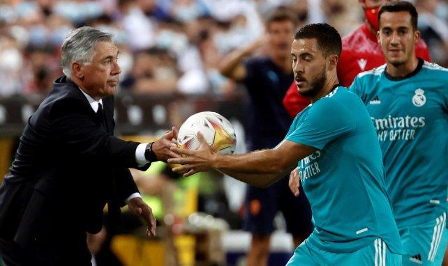 Real Madrid | Eden Hazard, la asignatura pendiente de Carlo Ancelotti