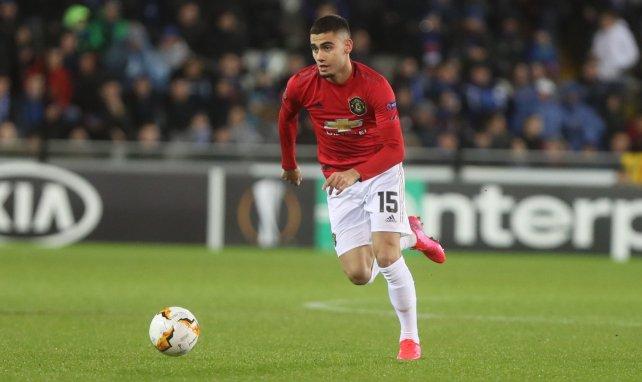El Manchester United encuentra destino a Andreas Pereira