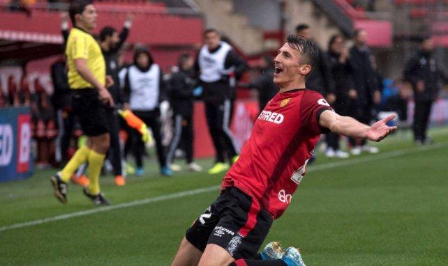 Ante Budimir ha brillado en el Real Mallorca