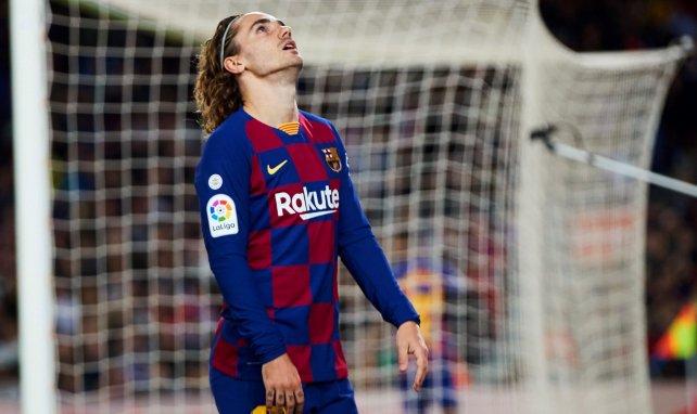 El FC Barcelona confirma la lesión de Antoine Griezmann