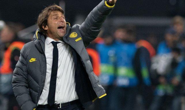 Antonio Conte alude a su futuro en el Inter de Milán