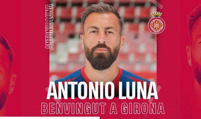 El Girona se hace con Antonio Luna