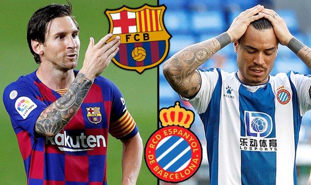Confirmados los onces de FC Barcelona y Espanyol