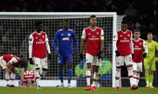 La enésima decepción de un Arsenal en caída libre