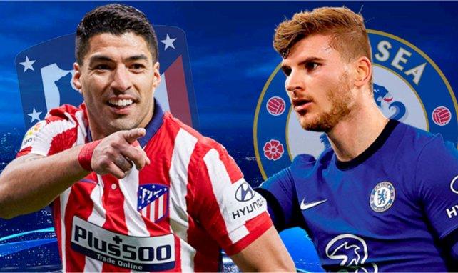 Ya hay onces del Atlético de Madrid - Chelsea