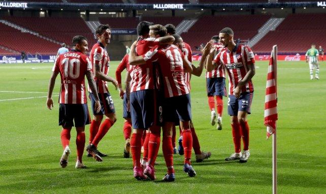 Las alineaciones del Atlético de Madrid - Huesca