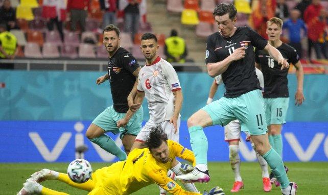 Austria y Macedonia se han enfrentado en la Eurocopa