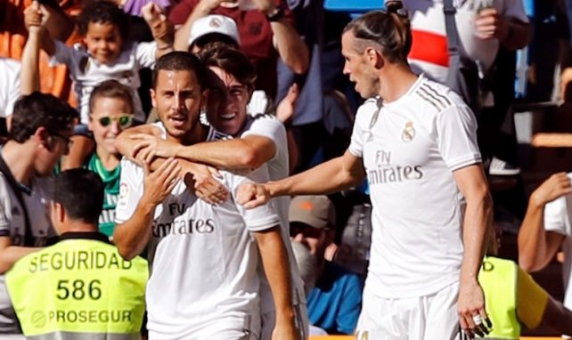 La delantera del Real Madrid pierde gol