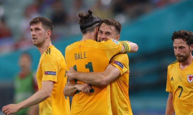 Eurocopa | Gareth Bale y Aaron Ramsey disparan a Gales