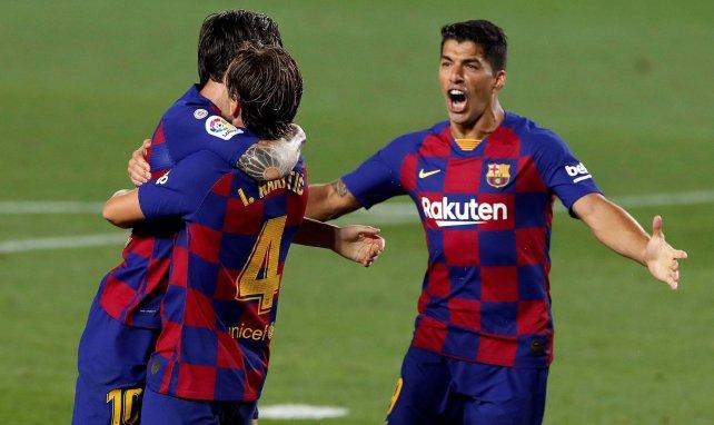 Luis Suárez analiza la situación de Leo Messi