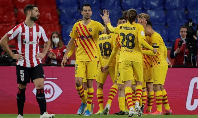 Amistoso | Rey Manaj se luce con el FC Barcelona ante el Nàstic