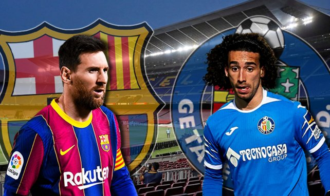 ¡Ya hay onces del FC Barcelona - Getafe!