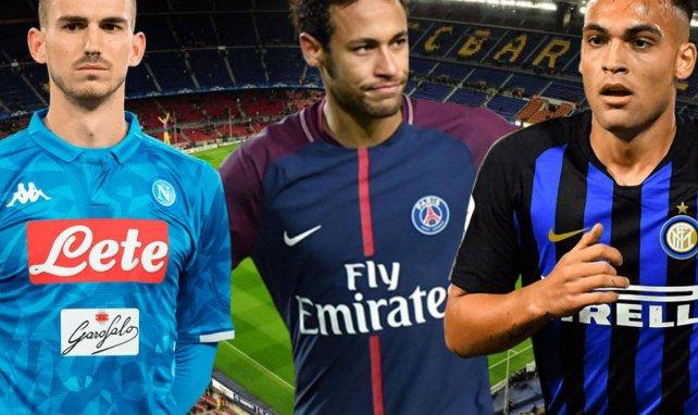 El XI ideal de los posibles fichajes del FC Barcelona