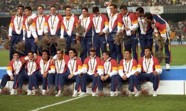 La Selección Española ganó el oro olímpico en 1992