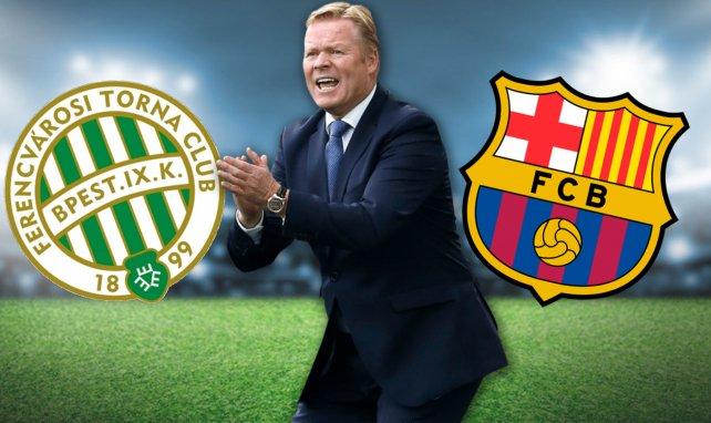 Los onces del Ferencvaros - FC Barcelona