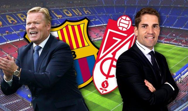 Ya hay onces del FC Barcelona - Granada